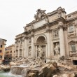 Fountain di Trevi - most famous Rome's fountains in the world. Italy. — Stock Photo #38119957