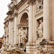 Fountain di Trevi - most famous Rome's fountains in the world. Italy. — Stock Photo #38119965