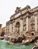Fountain di Trevi - most famous Rome's fountains in the world. Italy. — Foto Stock