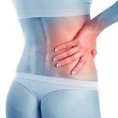 Pain in waist — Stock Photo
