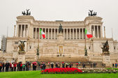 Altar of the Fatherland in Rome — Stock Photo