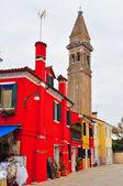 Burano, venise, italie — Photo