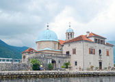 Gospa od Skrpjela (Our Lady of the Rocks), Perast, Montenegro — Foto de Stock
