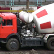 Stock Video: Cement-mixer