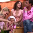 Stockvideo: Family outdoor 2