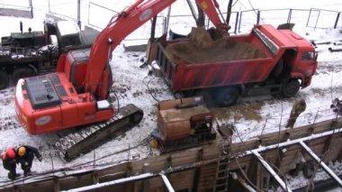 Excavator — Stock Video #12282295