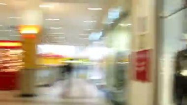 Abstract shop timelapse. — Stock Video