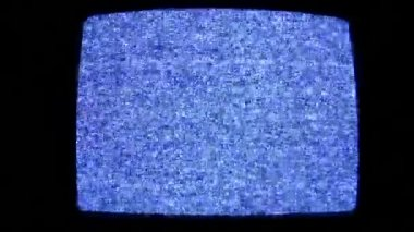 Tv no signal — Stock Video