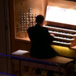 Big organ music - Stock Photo