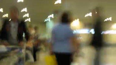 空港の時間経過 — ストックビデオ