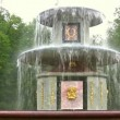 Stock Video: Fountain. Peterhof. Petersburg