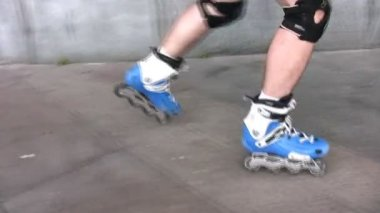 Roller legs — Stock Video