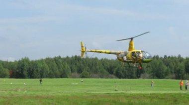 直升机比赛 — 图库视频影像
