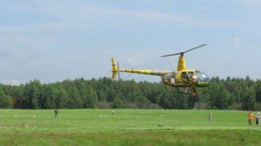Concurso de helicóptero — Vídeo de stock