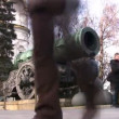 Cannon russia moscow — Stock Video
