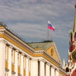Clock tower kremlin moscow — Stockvideo