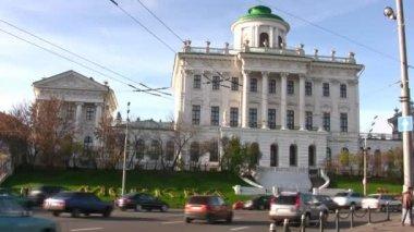Následují paškovův dům. moskva — Stock video