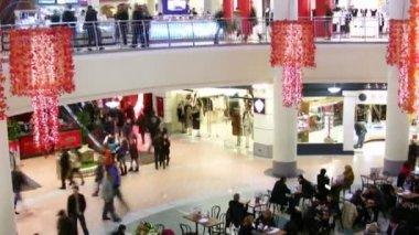Shop crowd — Stock Video