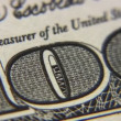 Stock Video: Numeral one hundred dollar bills macro, rotating