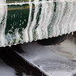 Foam drips from car bumper — Stock Video #13786779