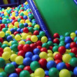 Stock Video: Nursery playing room with balls