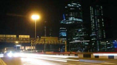 Fretta sulla superstrada — Video Stock