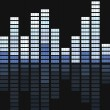 Equalizer bar vector -  