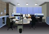 Office vector — Stock Vector