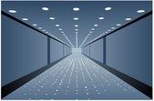 廊下のベクトル — Stockvektor