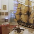 Interior of historical museum, panning — Stock Video #18194479