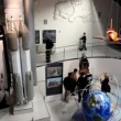 Memorial Museum of Cosmonautics is dedicated to exhibits of Russispace exploration — Stock Video #26756109