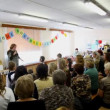 Performance of first grade pupils at dedication of school number 1349 in Moscow — Stock Video #26757043