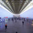 Leningradsky rail terminal in Moscow, situated on komsomolskaya square — Stock Video #26757567
