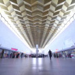 Leningradsky rail terminal in Moscow, situated on komsomolskaya square — Stock Video #26758605