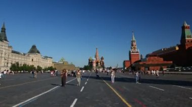 Red Square in Moscow, Russia — Stock Video