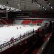 "Beginning junior hockey match ""Spartak""-""Almaz"" of MHL in sports palace ""Sokolniki"" — Stock Video #27512891"