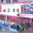 Stock Video: Have a rest in an aquapark in Moscow, Russia.