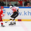 "Hockey match ""Spartak""-""Almaz"" of MHL in sports palace ""Sokolniki"" — ストックビデオ"