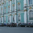 Tourists turn in Winter Palace in St. Petersburg, Russia. — Stock Video #27547887