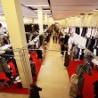 Exhibition Fur sale in Moscow Manege in Moscow , Russia — Stock Video