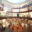 Dubai Mall from inside with shoppers in Dubai, UAE. — Stock Video