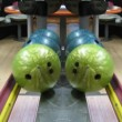Bowling balls — Stock Video