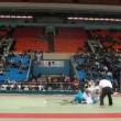 Referee judge fight during Kudo World Cup — Stok video