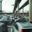 Large car parking at airport — Stock Video #27980823