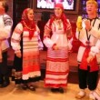 Stock Video: Russifolklore ensemble Obereg sings song