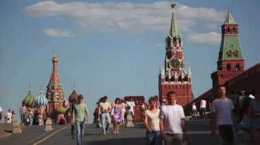 Red Square, Moscow — Stock Video