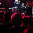 Happy crowd on Tatiana Zykina concert at IKRA club — Stock Video