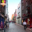 Stock Video: People on Temple Bar