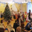 Children dance during New Years party in kindergarten  1041 — Stock Video