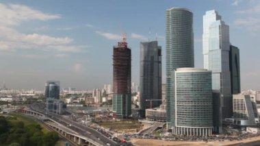 Moscow International Business Center — Stock Video